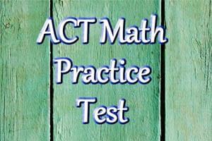 ACT Math Practice Problems