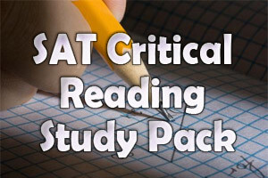SAT Critical Reading – Study Pack