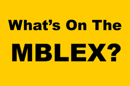 What's on the MBLEx?