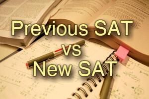 Previous SAT vs New SAT