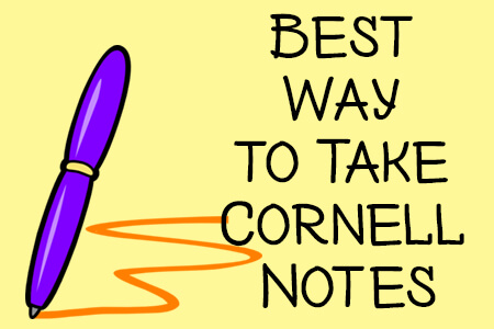 Best Way To Take Cornell Notes
