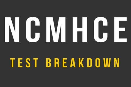 NCMHCE Test Breakdown