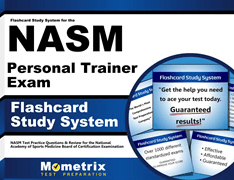 Flashcards Study System for the NASM Personal Trainer Exam