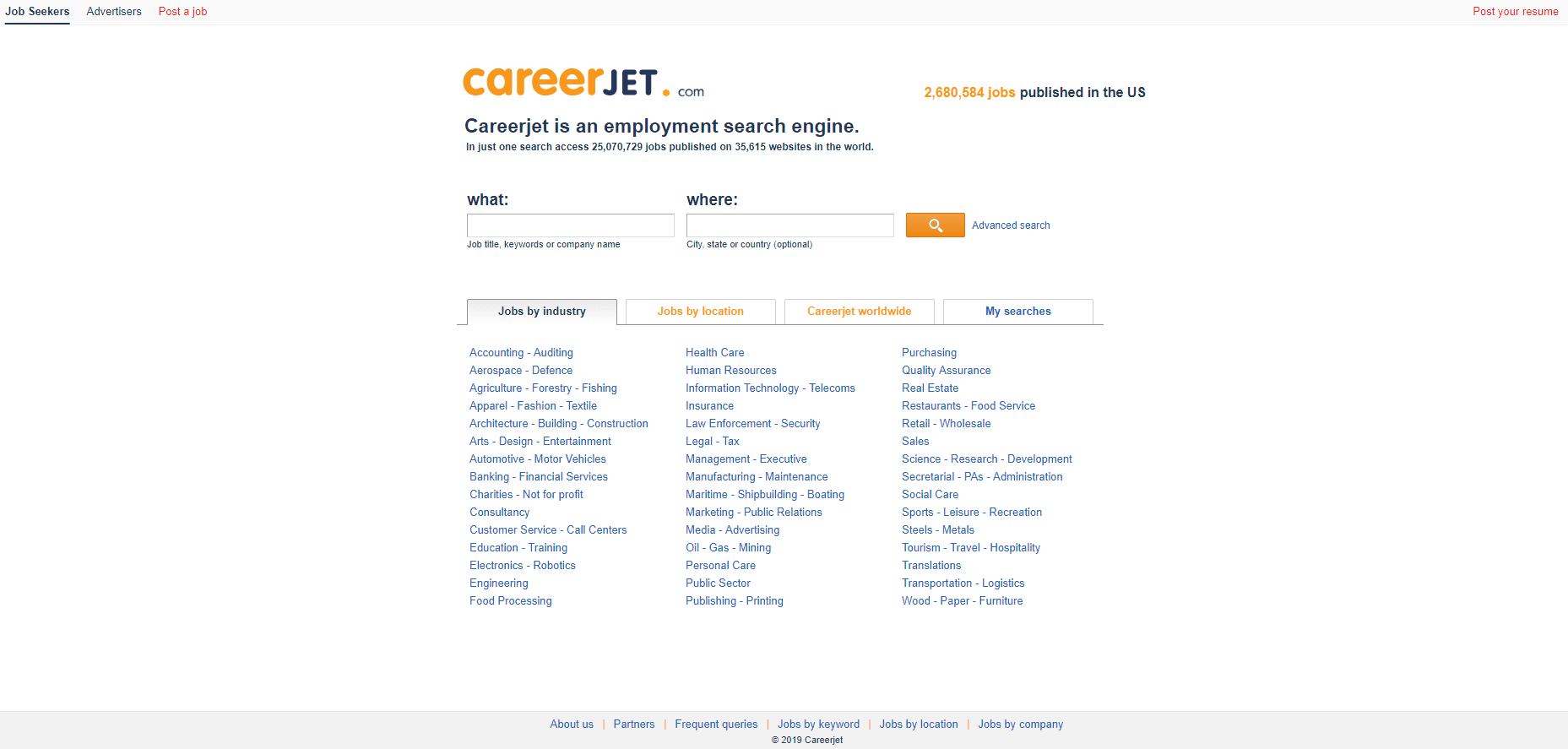Click to go to CareerJet.com