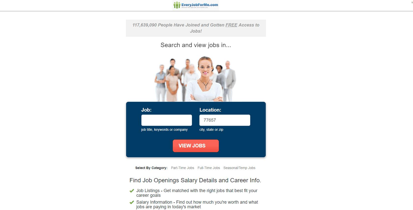 EveryJobForMe.com