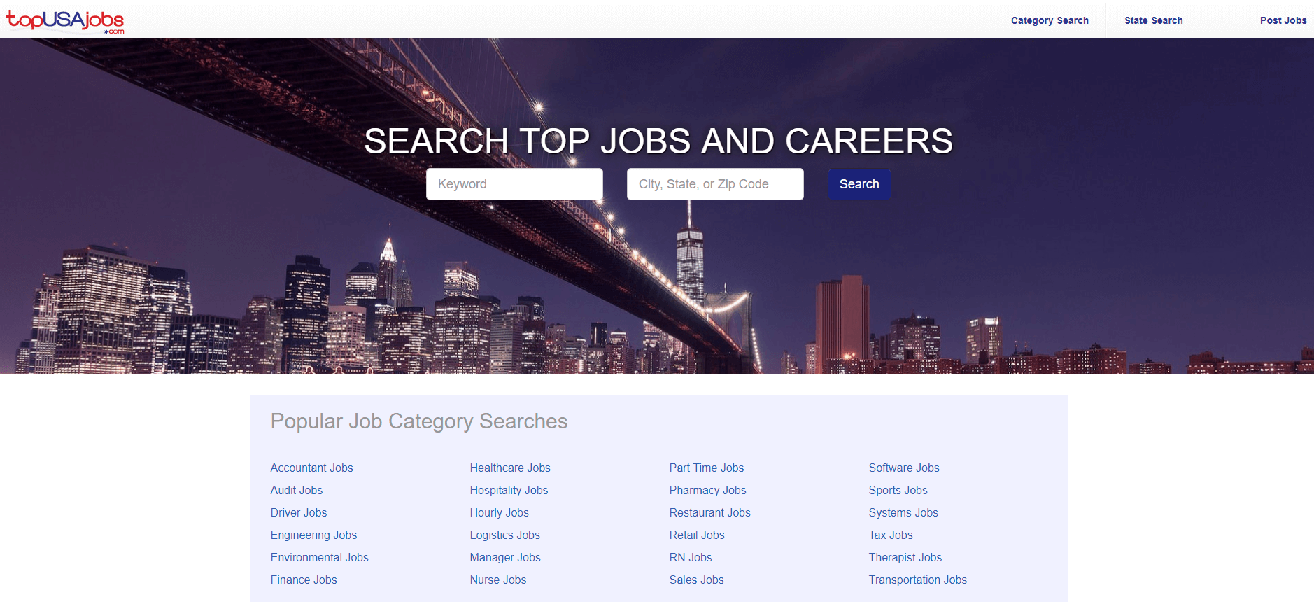 Click to go to topUSAjobs.com