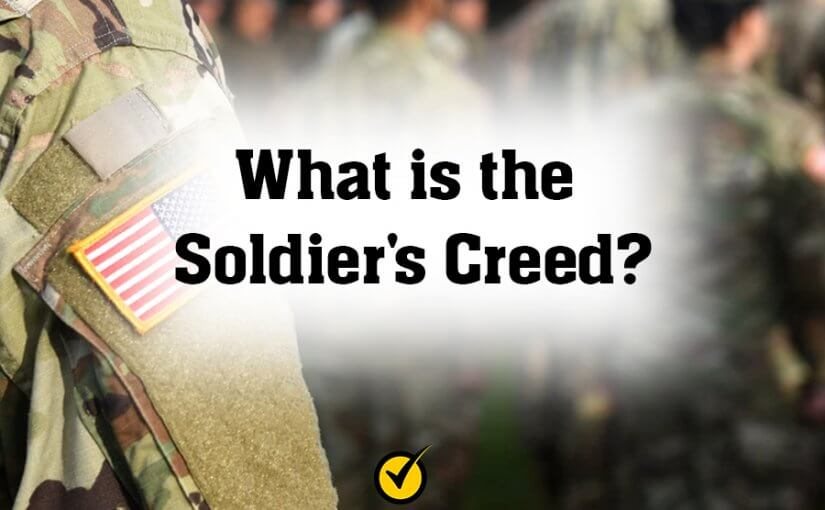 What is the Soldier's Creed?