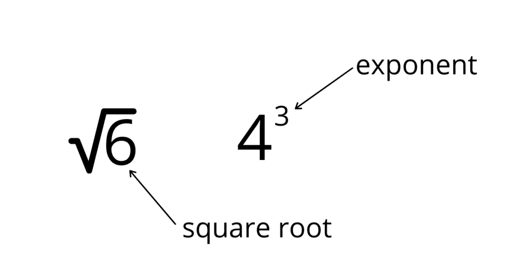 Exponent and Roots