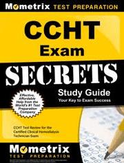 CCHT Exam Secrets Study Guide