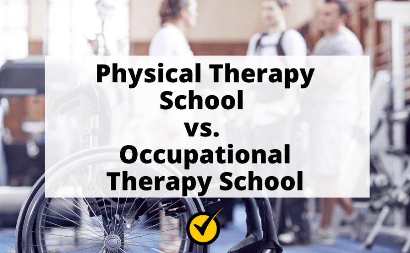 Physical Therapy School vs. Occupational Therapy School