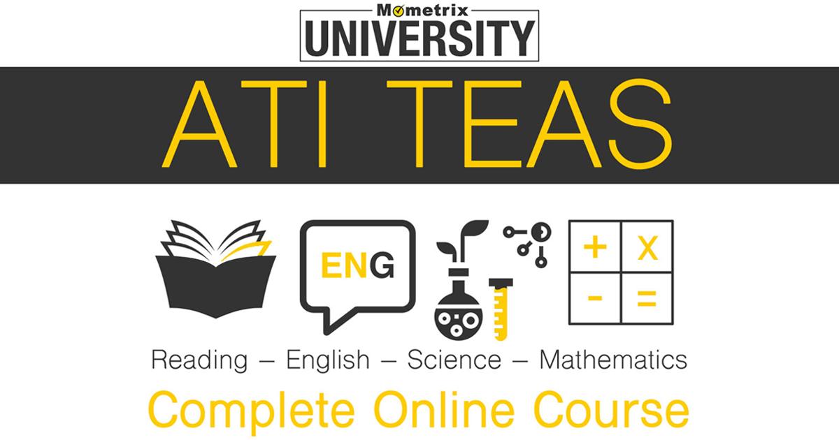 Mometrix University ATI TEAS Complete Online Course