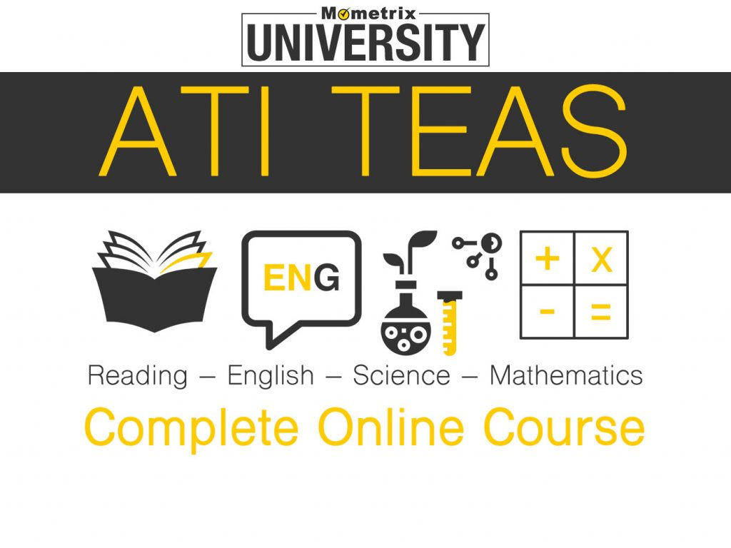 Mometrix University ATI TEAS Complete Online Course.