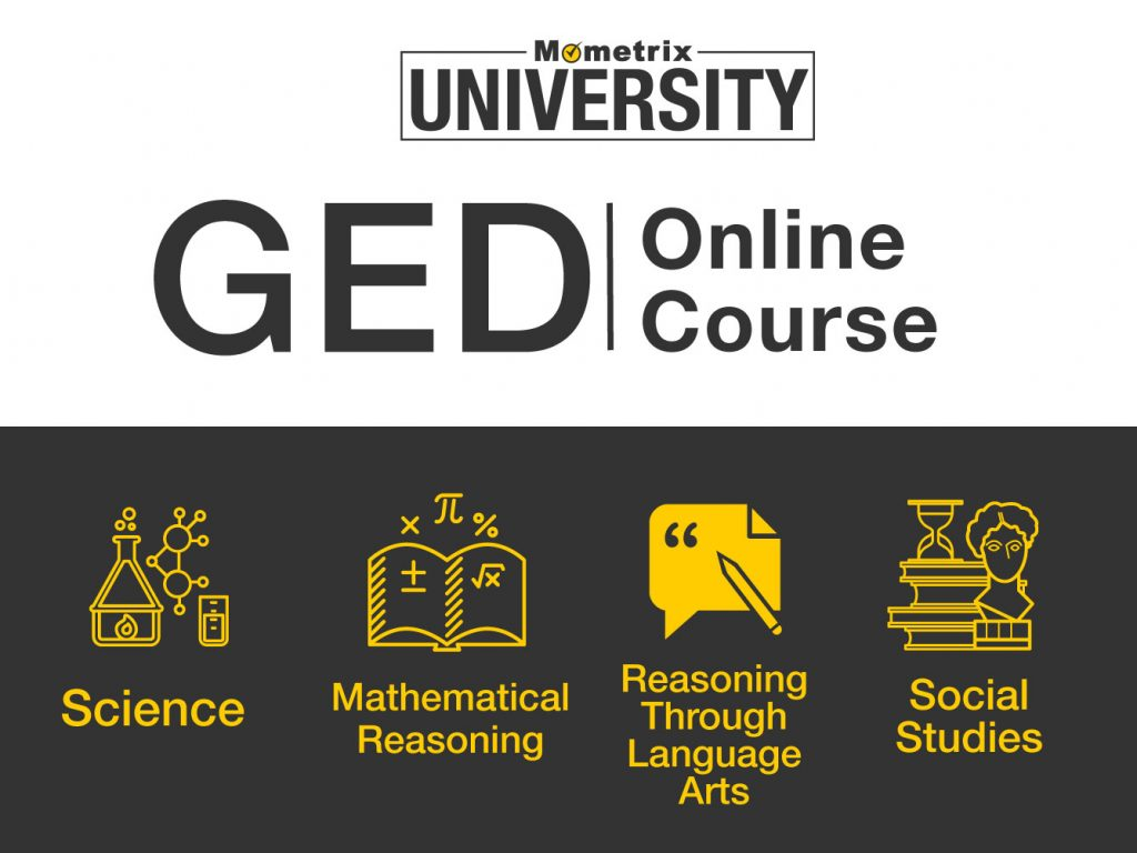 Mometrix University GED Online Course.