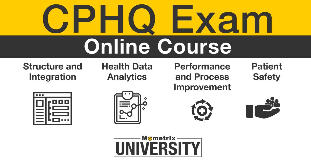 CPHQ certification.