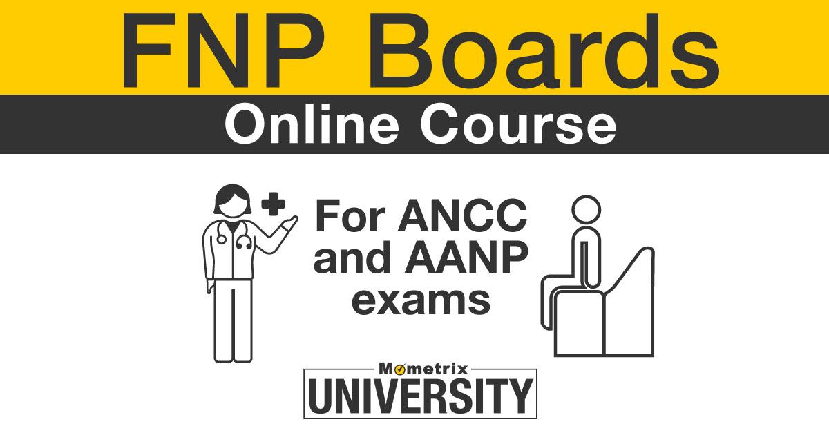 FNP Certifcation Online Course.
