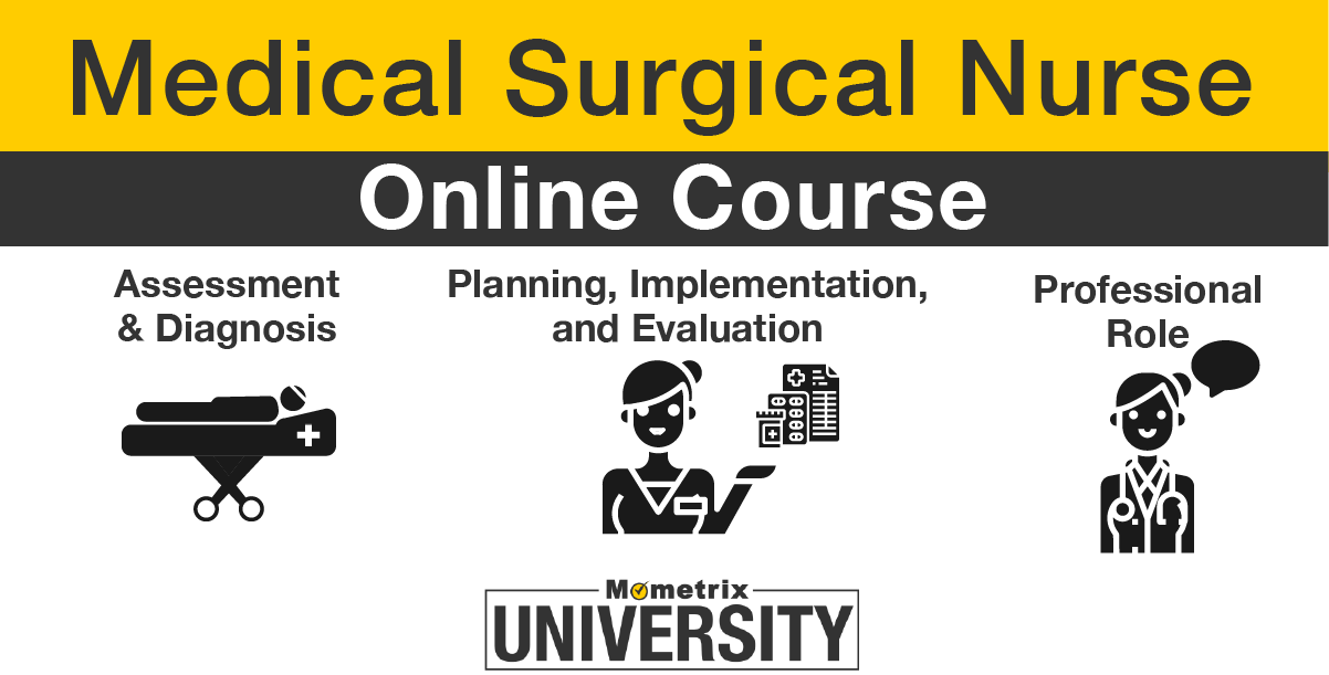 medical surgical nurse course image