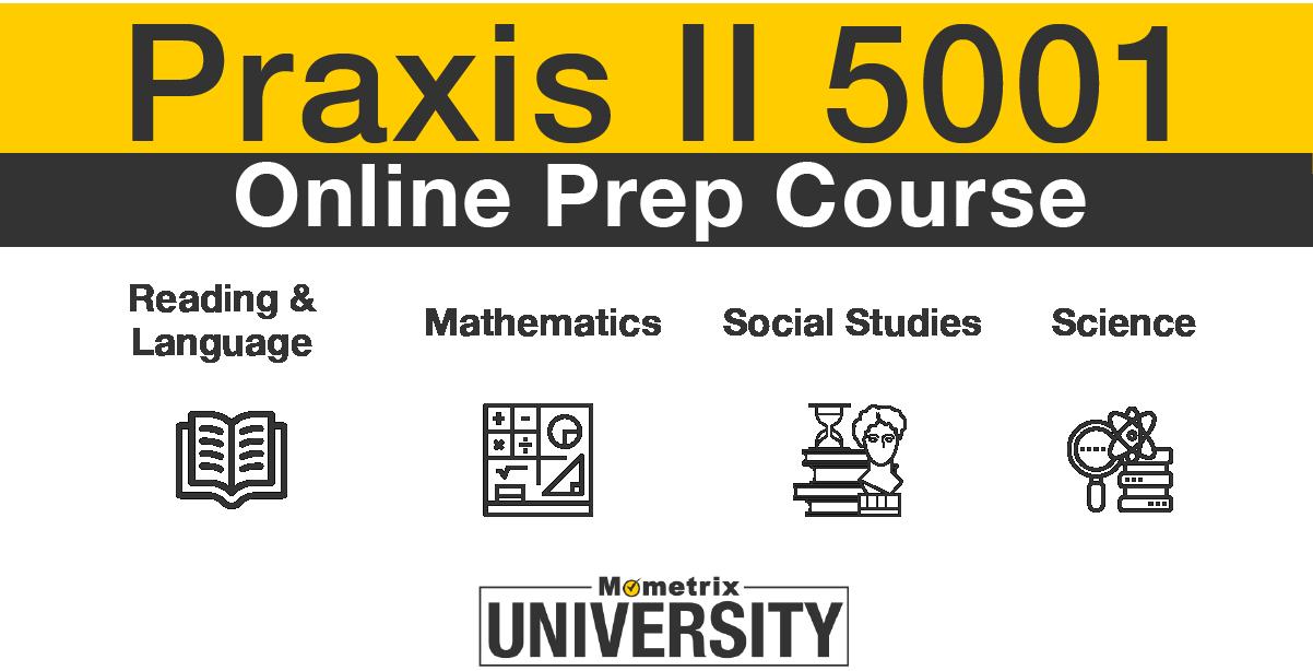 praxis II 5001 prep course ad