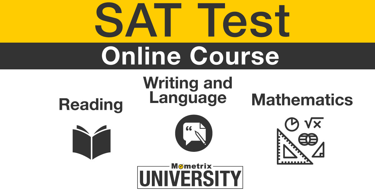 sat prep course from mometrix
