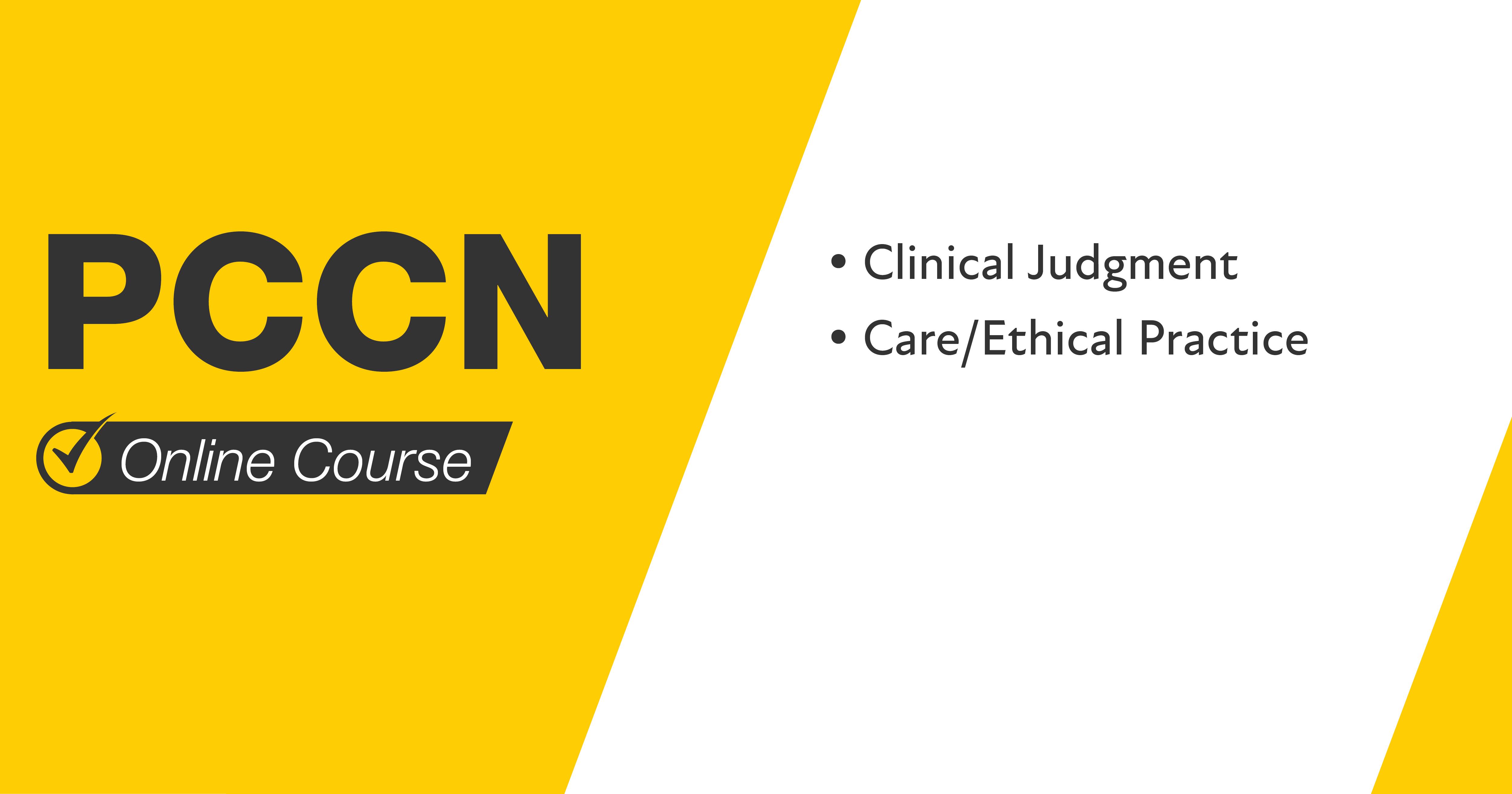 PCCN Online Course