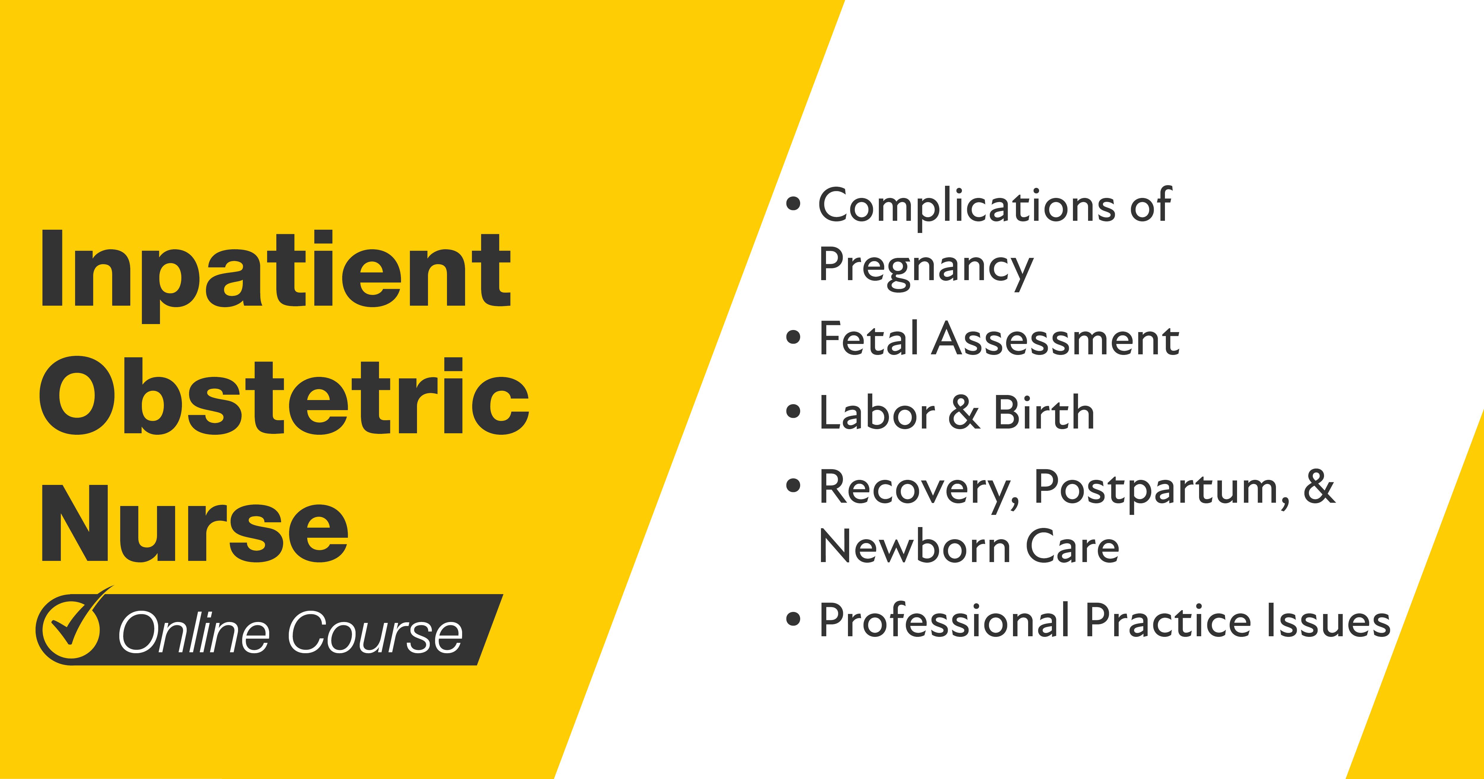 Mometrix Inpatient Obstetric Nurse Course