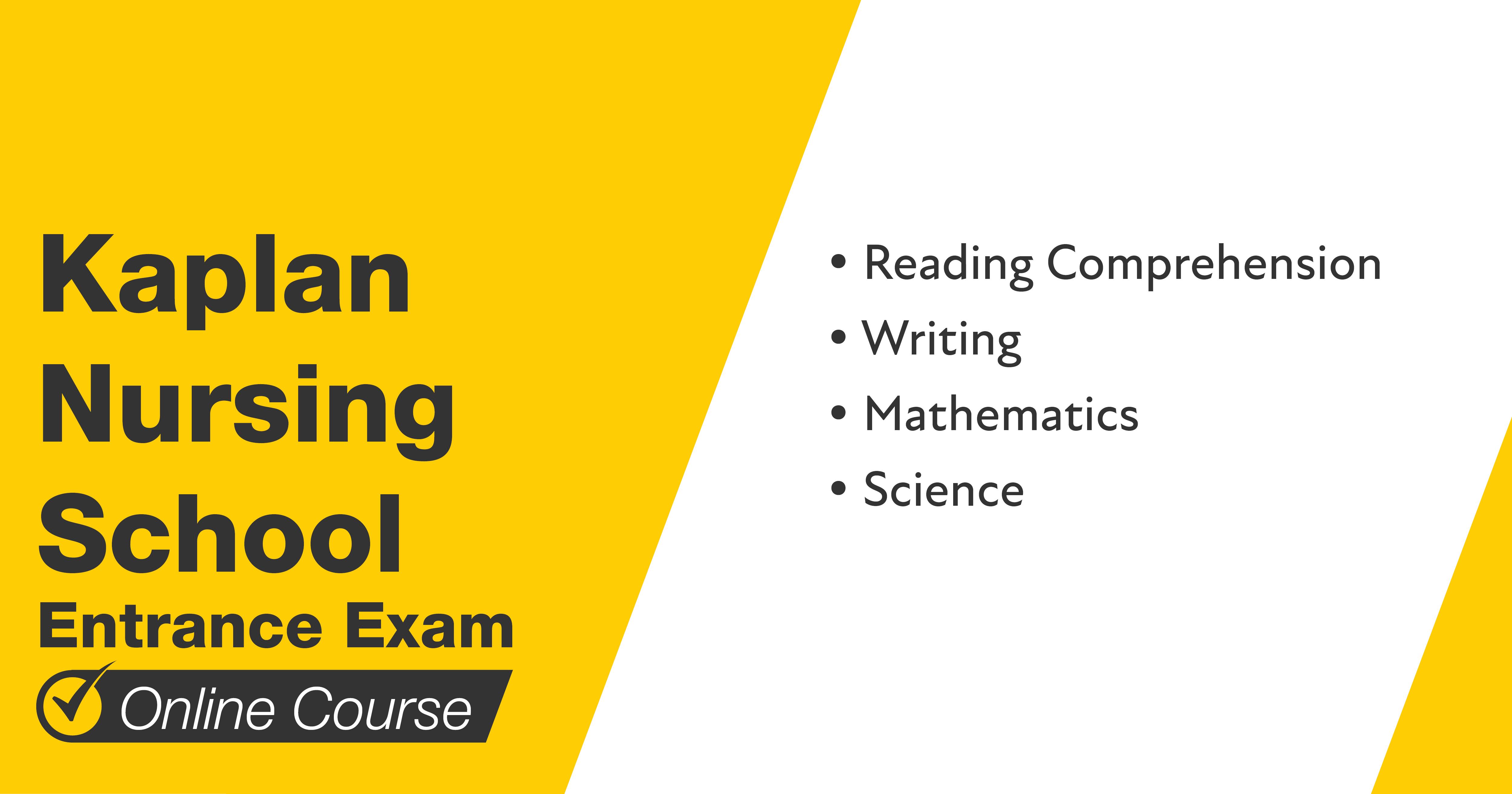 Mometrix Kaplan Nursing School Course