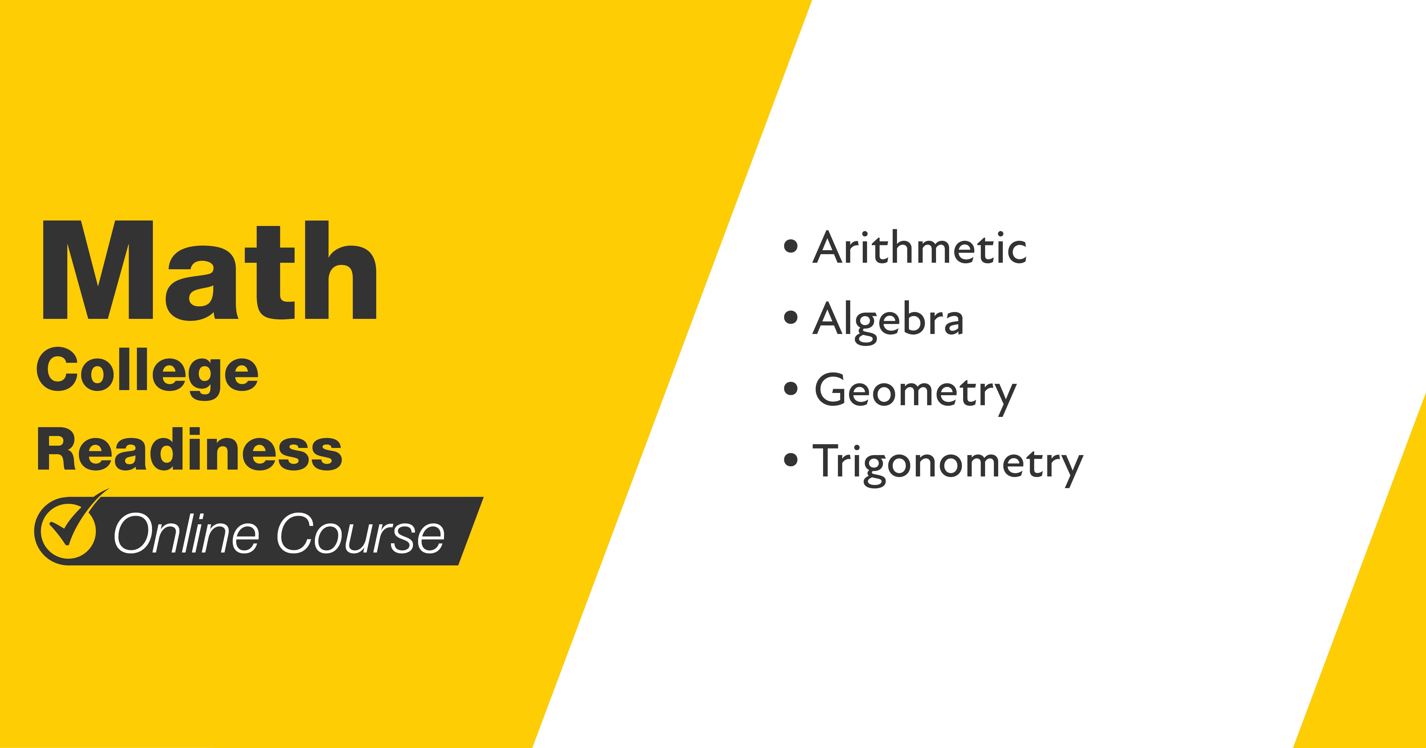 Mometrix Math College Readiness Course