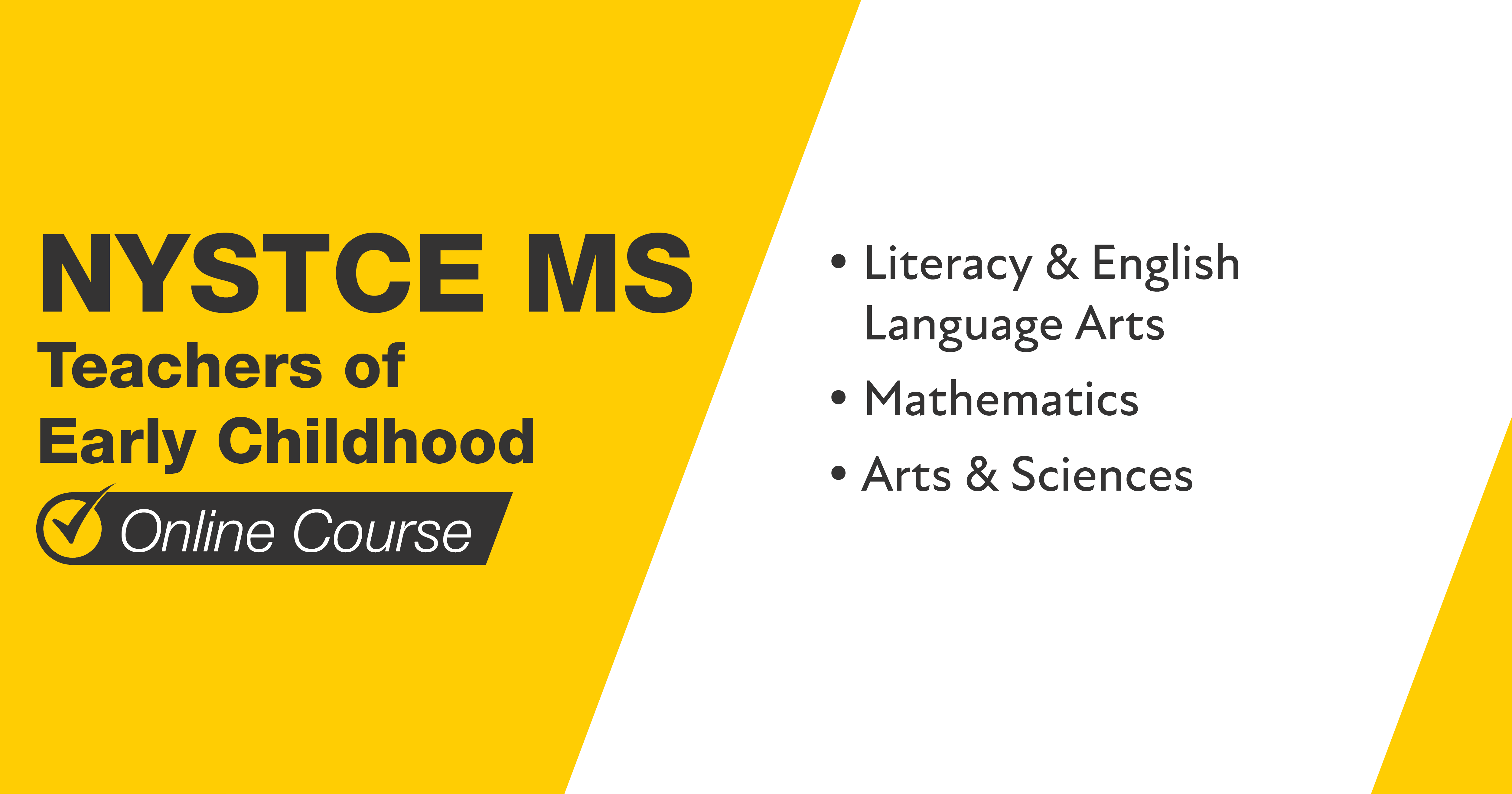 Mometrix NYSTCE MS Teachers of Early Childhood Course