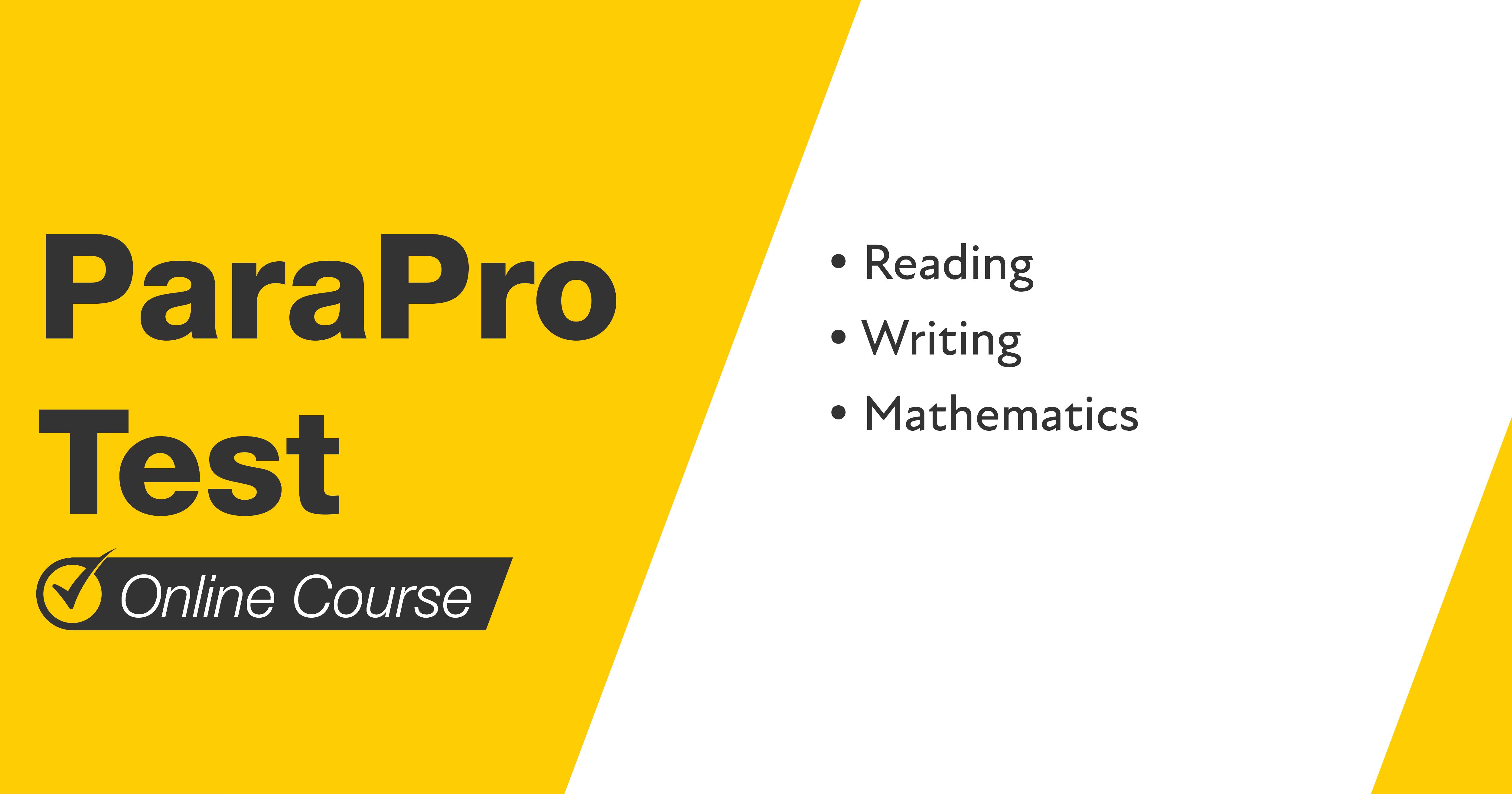 Mometrix ParaPro Course