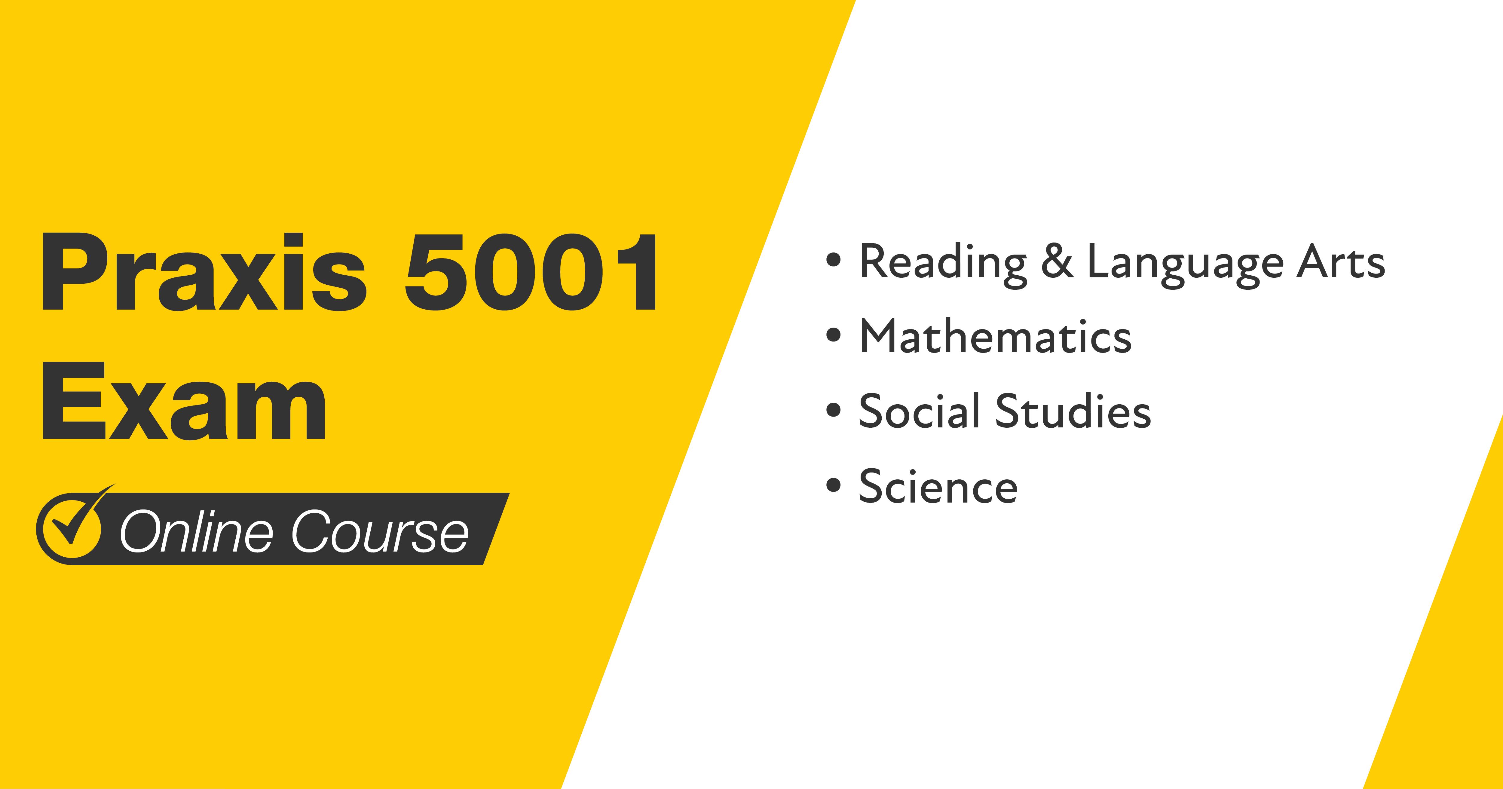 Mometrix Praxis 5001 Exam Course