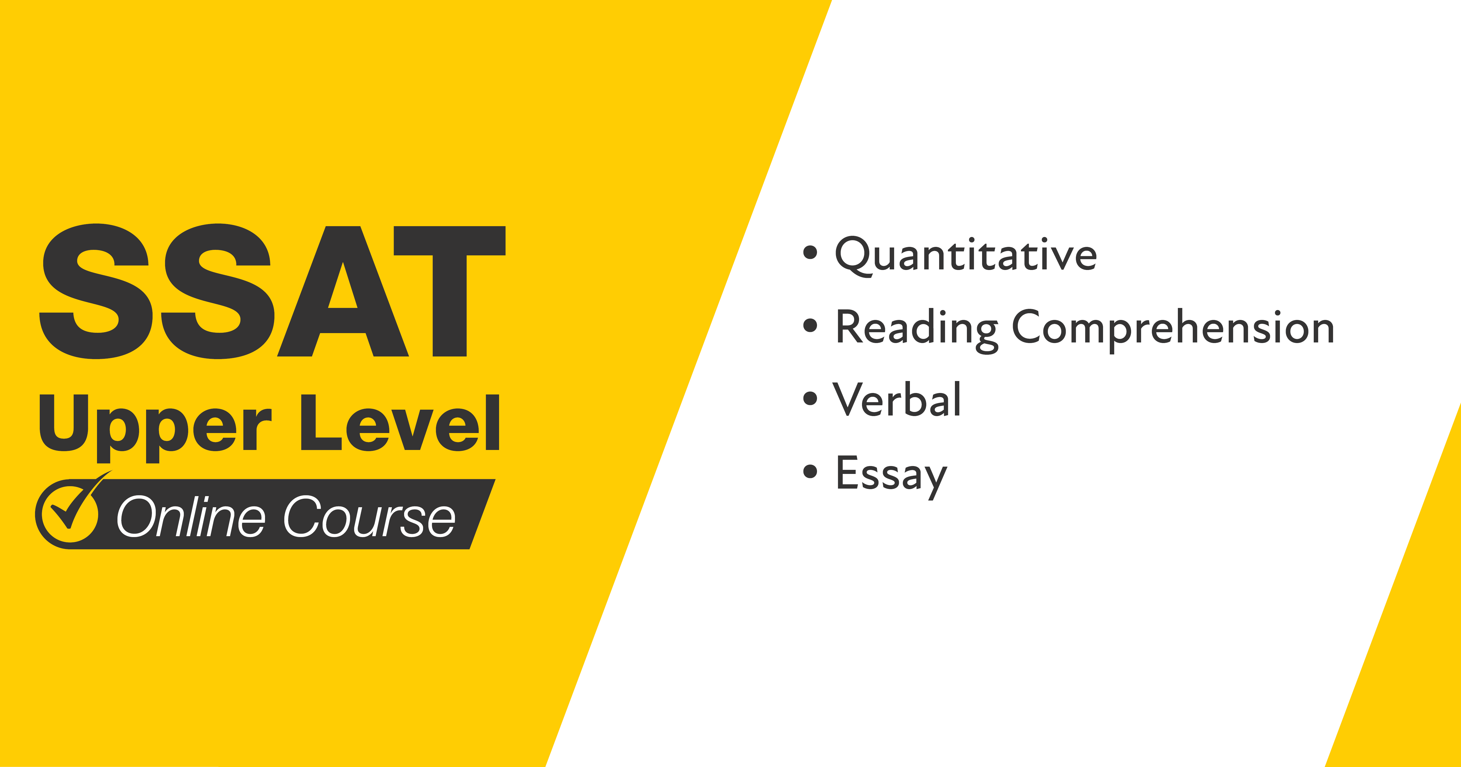 Mometrix SSAT Upper Level Course