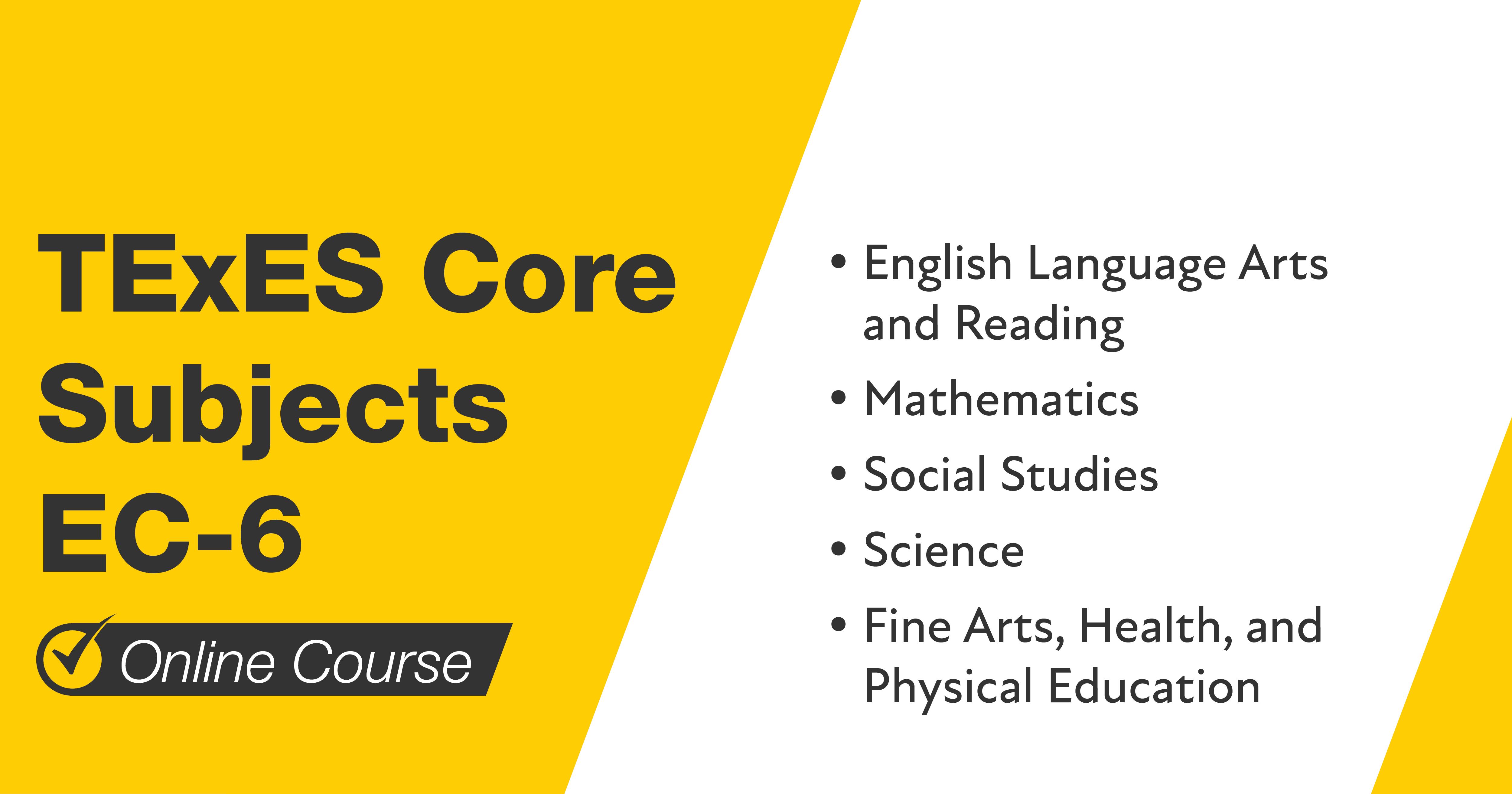 Mometrix TExES Core Subjects EC-6 Course