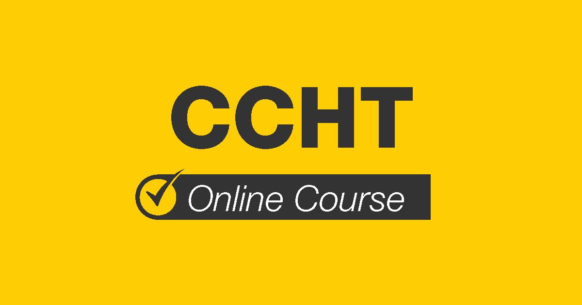 CCHT Online Course