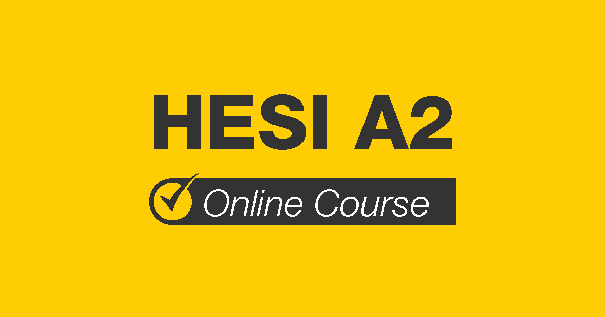 HESI A2 Online Course