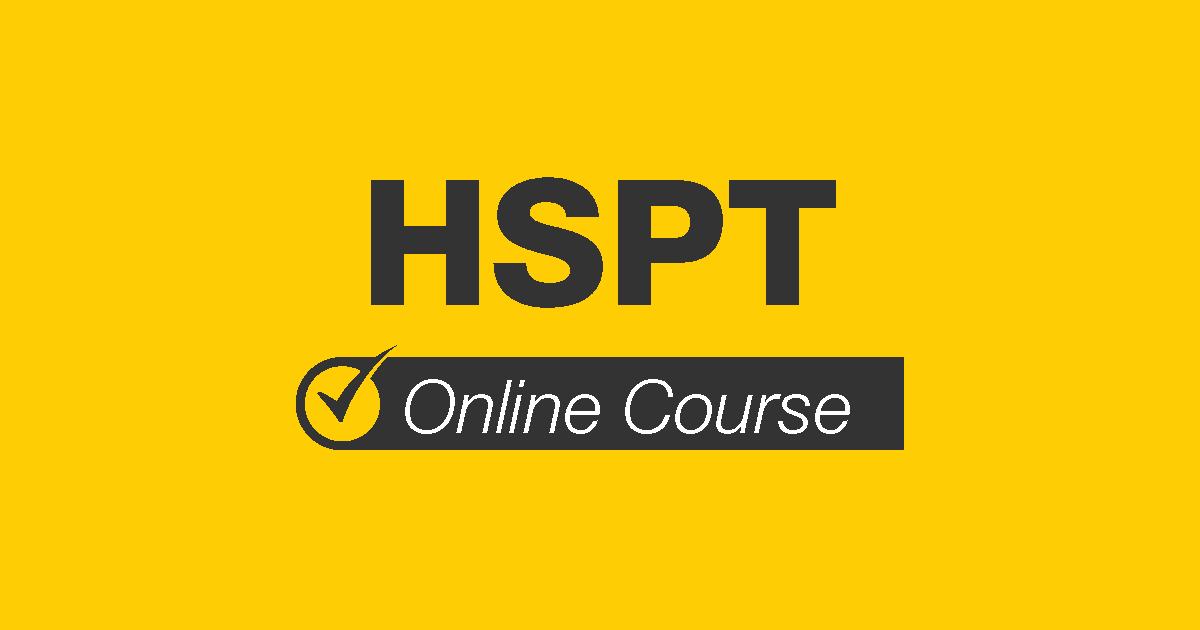 HSPT Online Course
