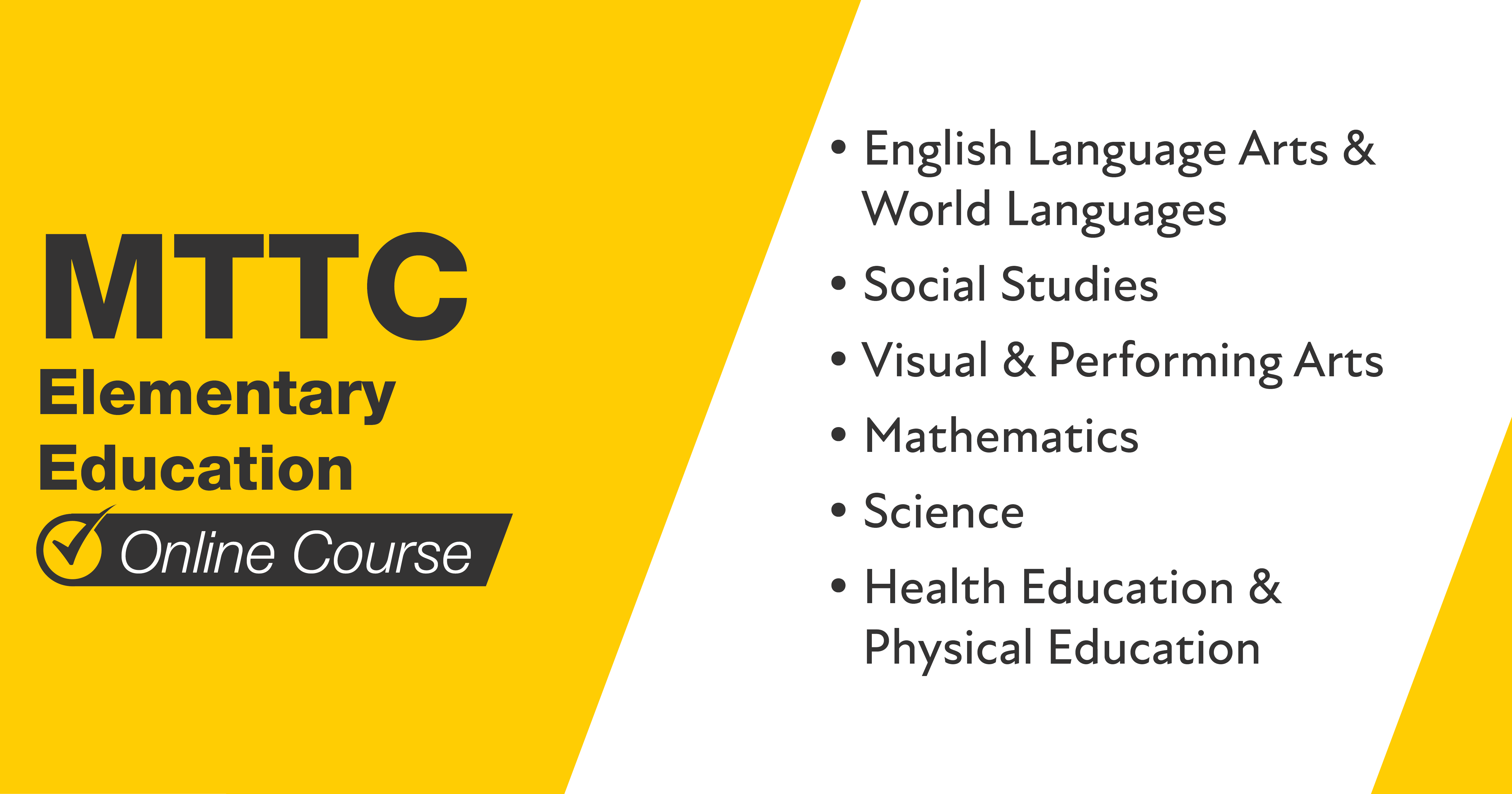 MTTC Elementary Education Online Course