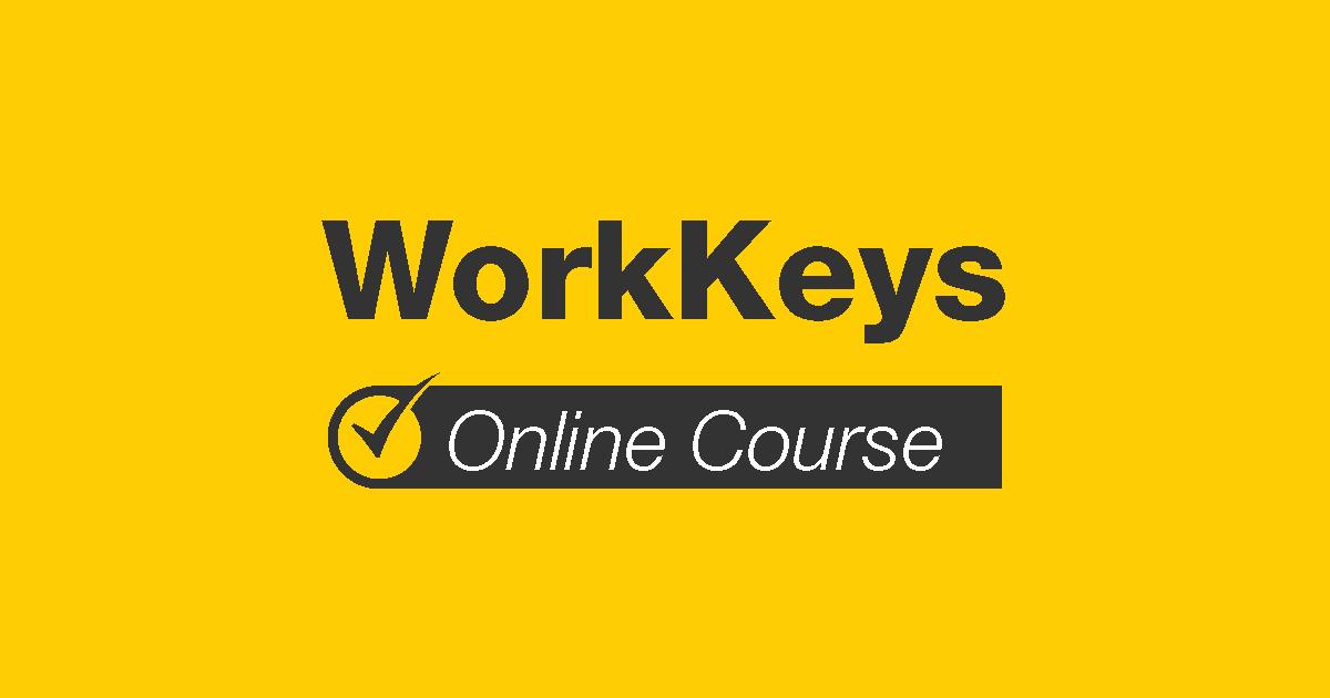 WorkKeys Online Course
