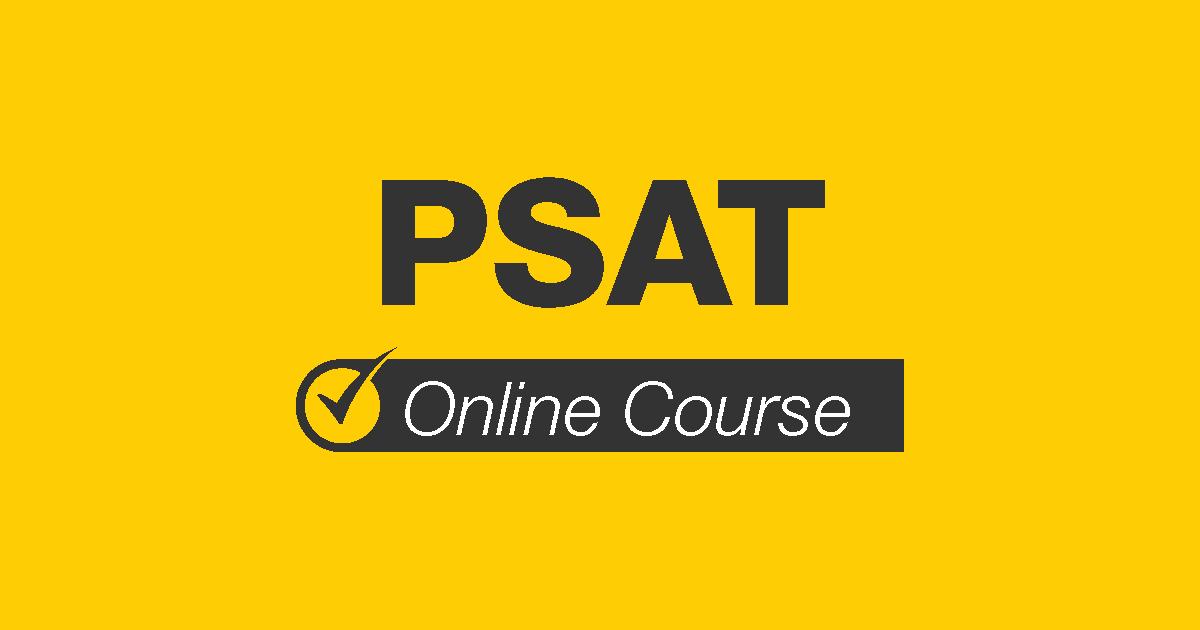 PSAT online course